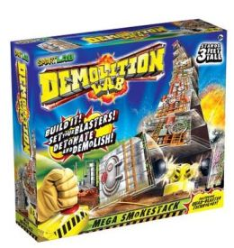 Demolition Lab: Mega Smokestacks