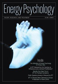 Energy Psychology Journal 3.1 May 2011