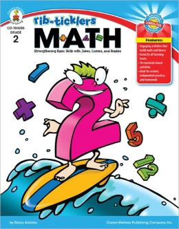 Rib-Ticklers Math: Strengthening Basic Skills with Jokes, Comics, and Riddles