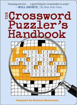 Crossword Puzzler's Handbook
