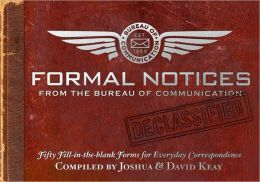 Formal Notices: Fifty Fill-in-the-Blank Forms for Everyday Correspondence