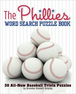 Phillies Rule! Word Search Puzzle Book