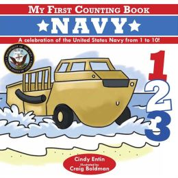 My First Counting Book: Navy