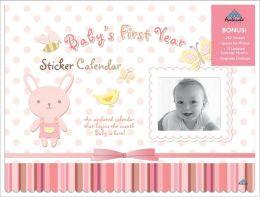 2011 Baby's First - Girl Monogram Activity Wall Calendar