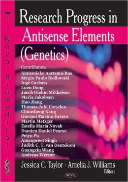 Research Progress in Antisense Elements (Genetics)