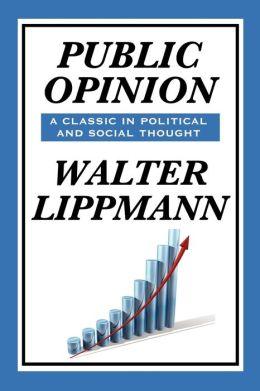 Public Opinion By Walter Lippmann