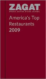 2009 America's Top Restaurants Dining Journal