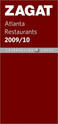 Zagat Atlanta Restaurants 2009-2010