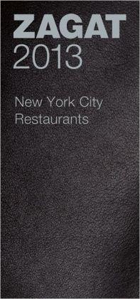 Zagat New York City Restaurants 2013 Leather