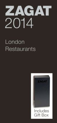 Zagat London Restaurants Black Deluxe Gift Box 2014