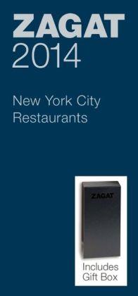 Zagat New York City Restaurant Blue Deluxe Gift Box 2014