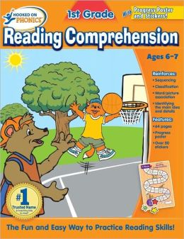 Hooked on Phonics 1st Grade Reading Comprehension Workbook
