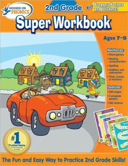 Hooked on Phonics 2nd Grade Super Workbook