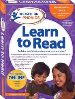 Hooked on Phonics Learn to Read Kindergarten Level 1