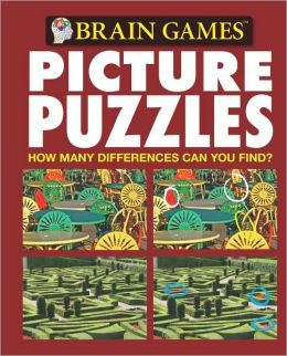 Brain Games Picture Puzzles #7: How Many Differences Can You Find? by ...