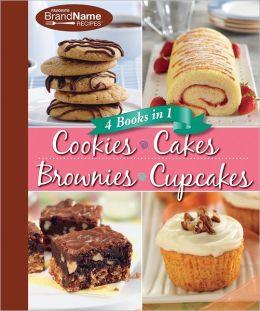 4 in 1 Cookies, Cakes, Brownies, Cupcakes