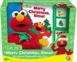Elmo Christmas: Book Box and Plush