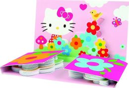 Hello Kitty Pink & Flowers Sticky Notes