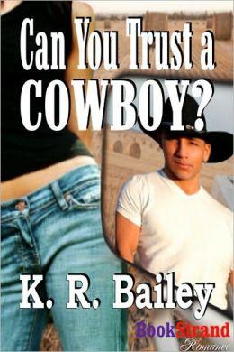 Can You Trust a Cowboy? (BookStrand Publishing Romance)