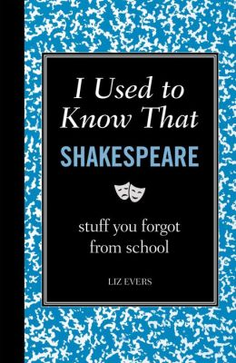 I Used to Know That: Shakespeare: Shakespeare