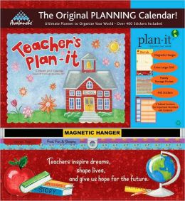 2011 Teacher's Plan-It Plus Wall Calendar