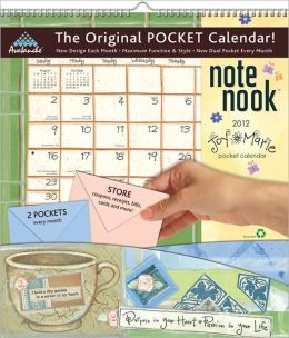 2012 Joy Marie Note Nook Wall Calendar