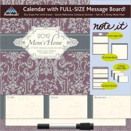 2012 Moms Home Note-It Message Board Calendar