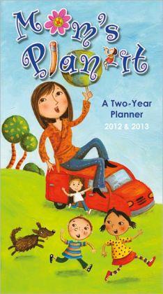 2012 Mom's Plan-It Checkbook/2 Yr Planner Calendar