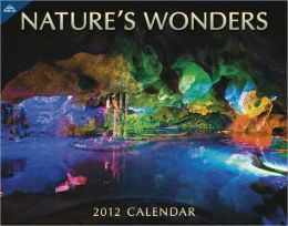 2012 Natures Wonders 11x14 Wall Calendar