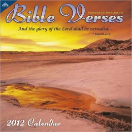 2012 Bible Verses 12x12 Wall Calendar