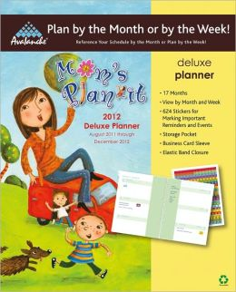 2012 Mom's Plan-It Deluxe Planner Calendar