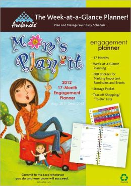 2012 Mom's Plan-It Scripture Engagement Planner Calendar
