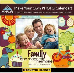 2012 Family Magnetic Memories Mini Wall Calendar