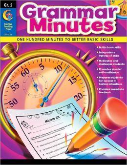 Grammar Minutes: Grade 5