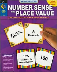 Number Sense and Place Value, Gr. 3 - Math Games Galore