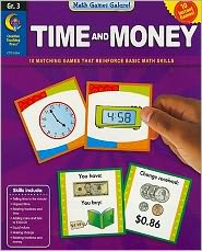 Time and Money, Gr. 3 - Math Games Galore