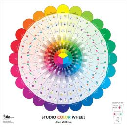 Studio Color Wheel: 30 x 30 Double-Sided Poster