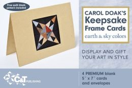 Carol Doak's Keepsake Frame Cards: Earth & Sky Colors