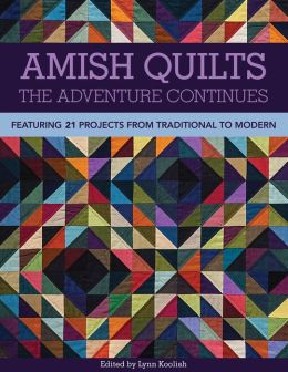 Amish Quilts--The Adventure Continues: Featuring 21 Projects from Traditional to Modern
