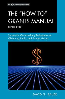 How To Grants Manual