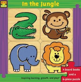 Read and Play: In the Jungle [With Puzzle]