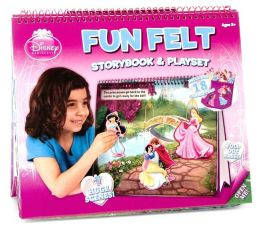 Disney Princess: Fun Felt Storybook and Playset
