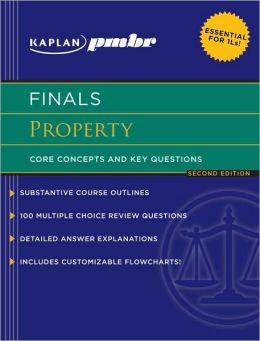 Kaplan PMBR FINALS: Property: Core Concepts and Key Questions