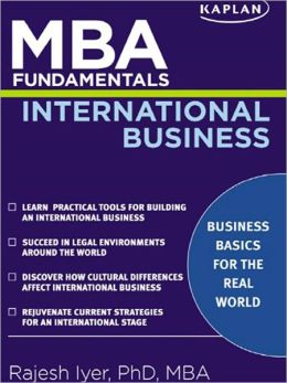 MBA Fundamentals International Business