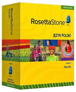 Rosetta Stone Homeschool Version 3 Polish Level 2: with Audio Companion, Parent Administrative Tools & Headset with Microphone