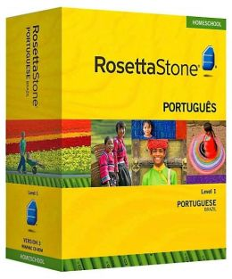 Rosetta Stone Homeschool Version 3 Portuguese (Brazilian) Level 1: with Audio Companion, Parent Administrative Tools & Headset with Microphone