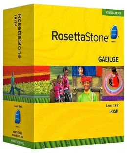 Rosetta Stone Homeschool Version 3 Irish Level 1 & 2 Set: with Audio Companion, Parent Administrative Tools & Headset with Microphone