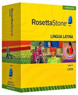 Rosetta Stone Homeschool Version 3 Latin Level 1: with Audio Companion, Parent Administrative Tools & Headset with Microphone