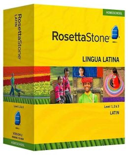 Rosetta Stone Homeschool Version 3 Latin Level 1, 2 & 3 Set: with Audio Companion, Parent Administrative Tools & Headset with Microphone