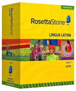 Rosetta Stone Homeschool Version 3 Latin Level 3: with Audio Companion, Parent Administrative Tools & Headset with Microphone